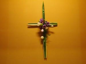 お花の十字架